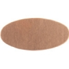 Metal Blank 24ga Copper Oval 25x12mm No Hole